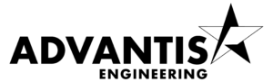 Advantis Engineering - Black Line Art