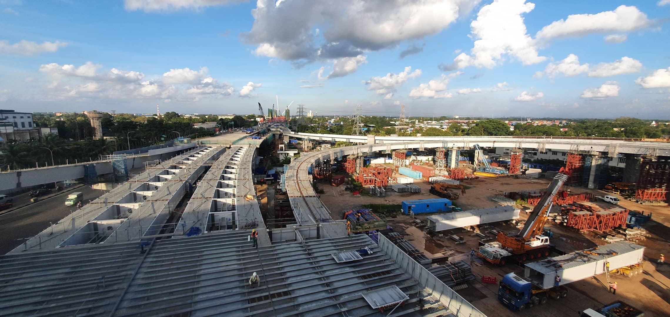 Elevated Highway Erection (New Kelani Bridge Project)